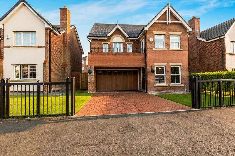 5 Bedrooms Detached House for sale in Carrwood Way, Walton Park, Preston.