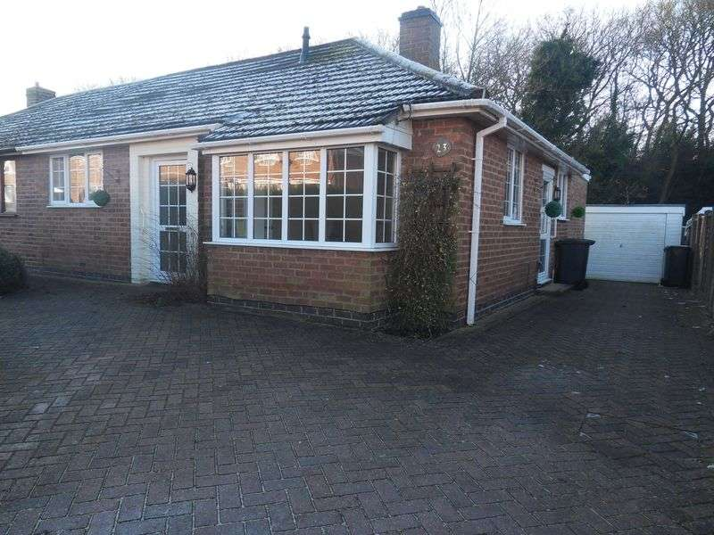 2 Bedrooms Semi Detached Bungalow for sale in Temple Hill, Whitwick
