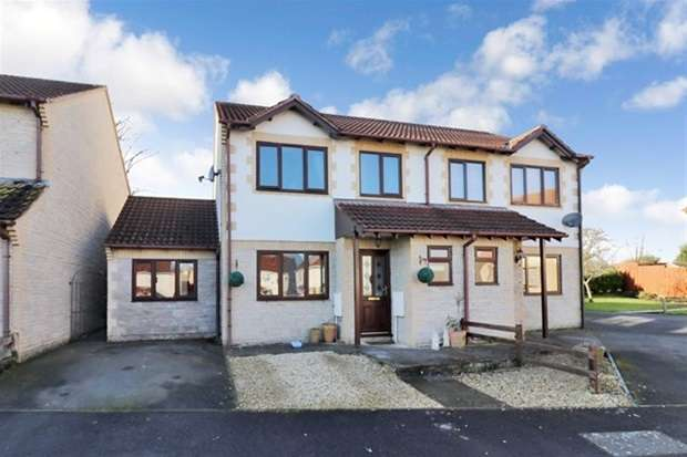 4 Bedrooms Semi Detached House for sale in Aquara Close, Street
