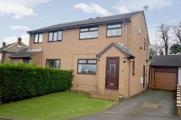 3 Bedrooms Semi Detached House for sale in Greenside Avenue, Waterloo, HUDDERSFIELD, West Yorkshire