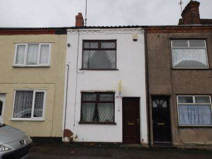 2 Bedrooms Terraced House for sale in Stoneyford Road, Sutton In Ashfield, Nottingham, Nottinghamshire