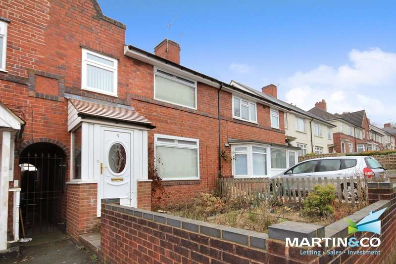 3 Bedrooms Terraced House for sale in Mill Hill, Smethwick, B67
