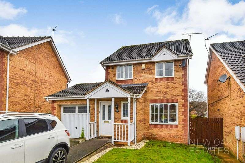 3 Bedrooms Detached House for sale in Foxbrook Drive, Walton