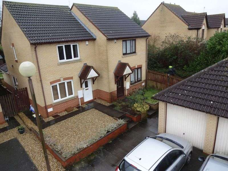 3 Bedrooms Semi Detached House for sale in Hoathly Mews, Milton Keynes