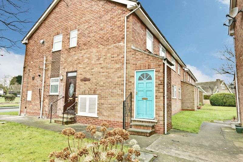 2 Bedrooms Flat for sale in Greendale Court, Cottingham