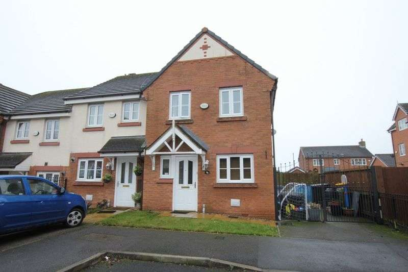 3 Bedrooms Semi Detached House for sale in East O Hills Close, Wirral