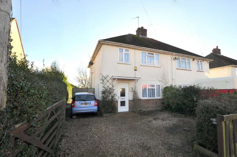 3 Bedrooms Semi Detached House for sale in Manor Road, Ringwood, BH24 1RD