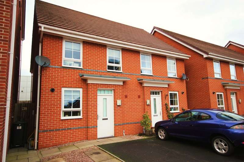 2 Bedrooms Semi Detached House for sale in Willis Place, St. Johns, Worcester