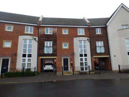 4 Bedrooms Terraced House for sale in Southwold Crescent, Broughton, Milton Keynes, Bucks