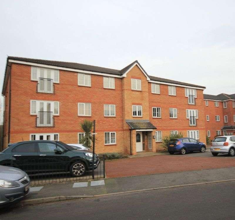 2 Bedrooms Flat for sale in Trent Bridge Close, Trentham