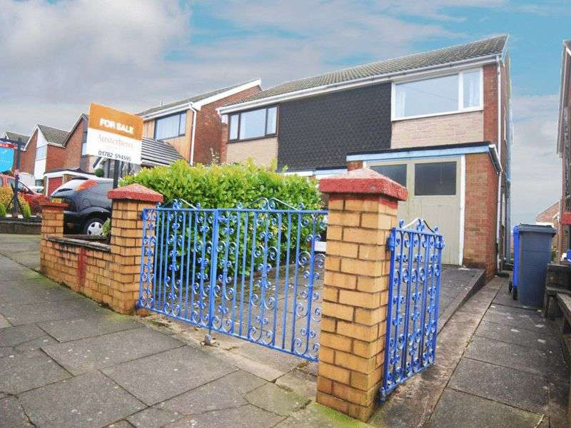 3 Bedrooms Semi Detached House for sale in Westonfields Drive, Westonfields, Stoke-On-Trent, ST3 5JH
