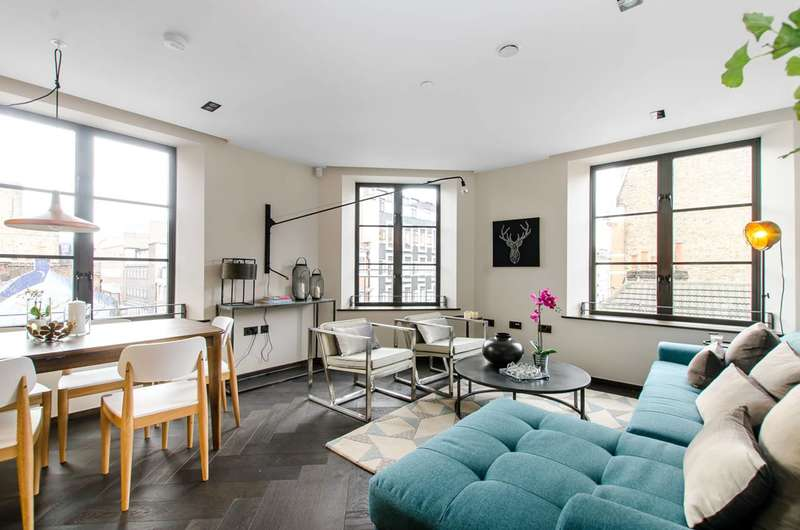 2 Bedrooms Flat for sale in Poland Street, Soho, W1F