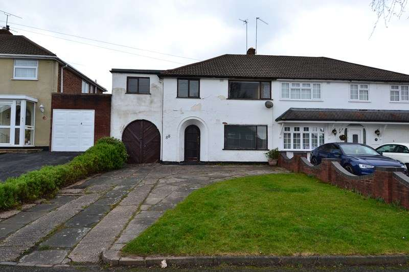 4 Bedrooms Semi Detached House for sale in Waseley Road, Rubery, Birmingham