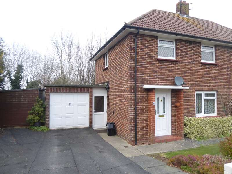 2 Bedrooms Semi Detached House for sale in The Meadows, Lewes