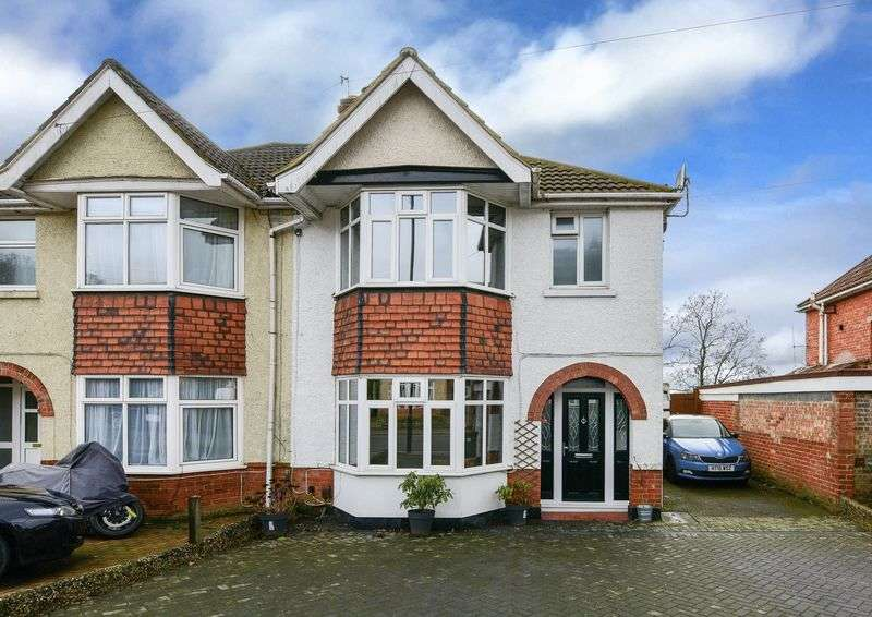 3 Bedrooms Semi Detached House for sale in Bitterne, Southampton