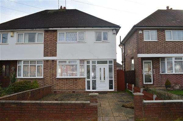 3 Bedrooms Semi Detached House for sale in Church Road, Sheldon, Birmingham