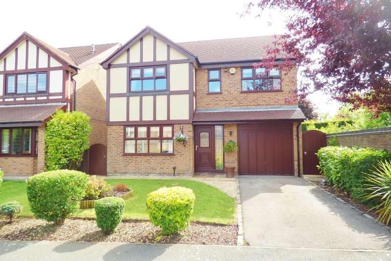 4 Bedrooms Detached House for sale in Shipton Close, Westbrook, Warrington