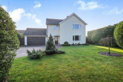 4 Bedrooms Detached House for sale in Hargrave, Bury St. Edmunds, Suffolk