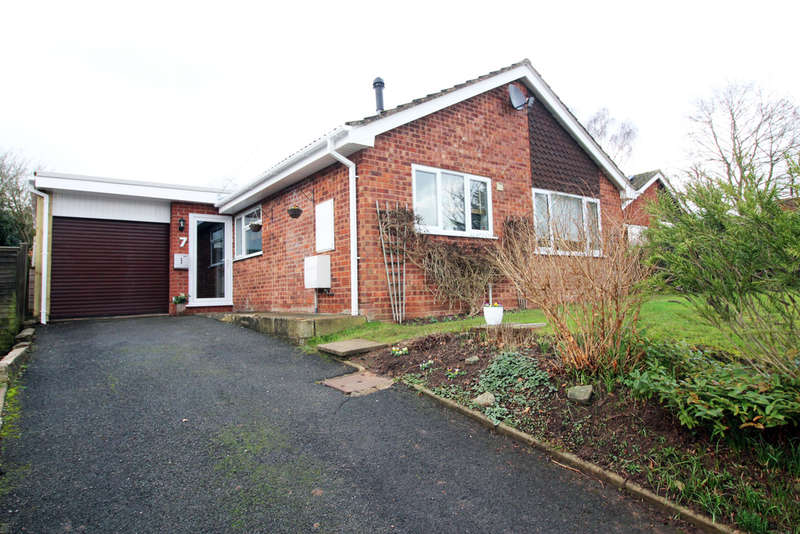 2 Bedrooms Detached Bungalow for sale in Toll House Close, Worcester, Worcester, WR2