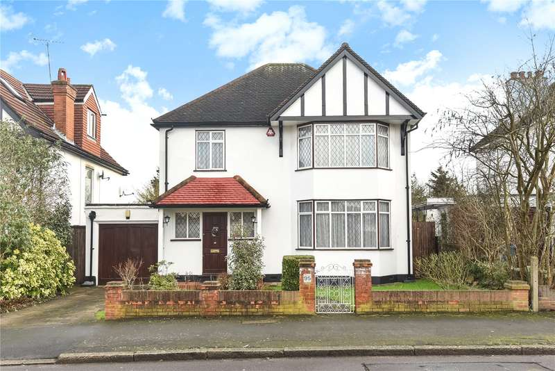 4 Bedrooms Detached House for sale in Pinner View, Harrow, Middlesex, HA1
