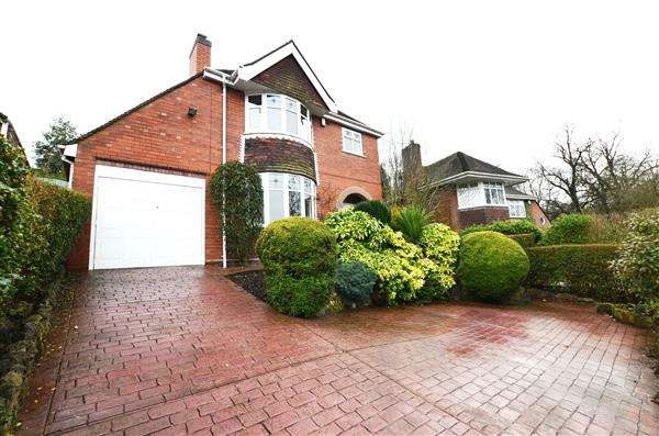 3 Bedrooms Detached House for sale in Inglewood Drive, Porthill, Newcastle-under-Lyme
