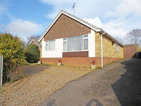 4 Bedrooms Detached Bungalow for sale in Rosbrook Close, BURY ST. EDMUNDS IP33 3QP