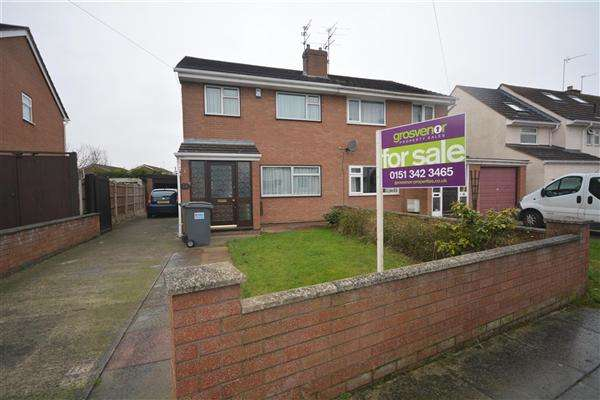 3 Bedrooms Semi Detached House for sale in Cranwell Road, Greasby