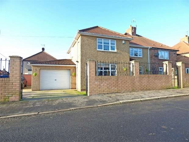 4 Bedrooms Semi Detached House for sale in Jack Lawson Terrace, Wheatley Hill, Durham