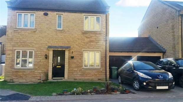 4 Bedrooms Detached House for sale in Fell Grove, Huddersfield, West Yorkshire