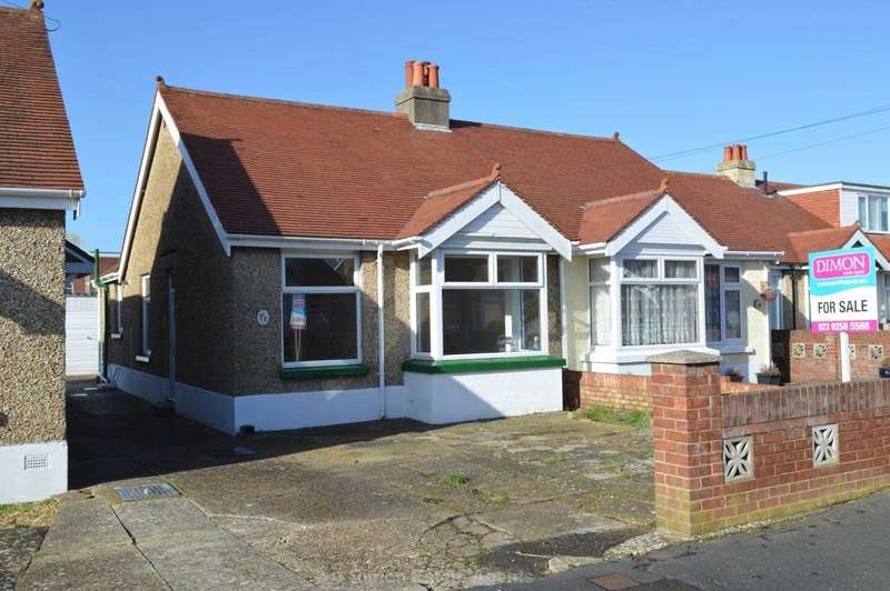 2 Bedrooms Semi Detached Bungalow for sale in Westcroft Road, Gosport