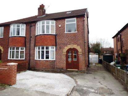 4 Bedrooms Semi Detached House for sale in Claremont Avenue, Marple, Stockport, Greater Manchester
