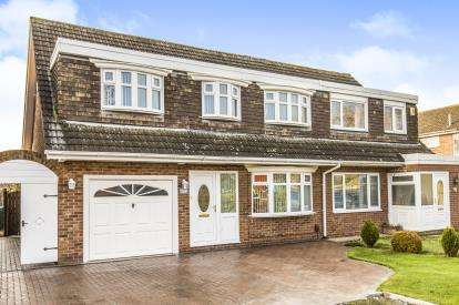 4 Bedrooms Semi Detached House for sale in Campion Grove, Marton-In-Cleveland, Middlesbrough