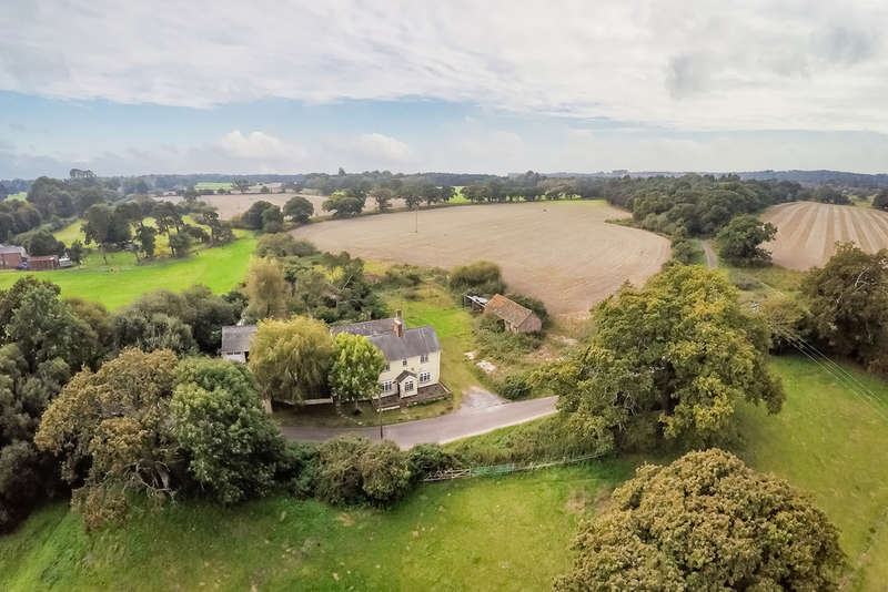 4 Bedrooms Detached House for sale in Lower Kingston, Ringwood, Hampshire