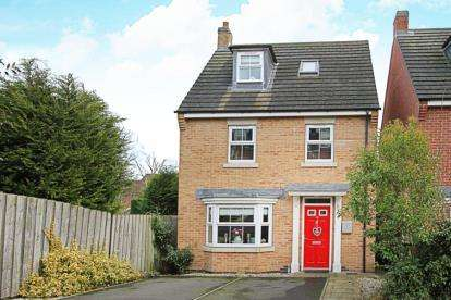 4 Bedrooms Detached House for sale in Church View Drive, Old Tupton, Chesterfield, Derbyshire