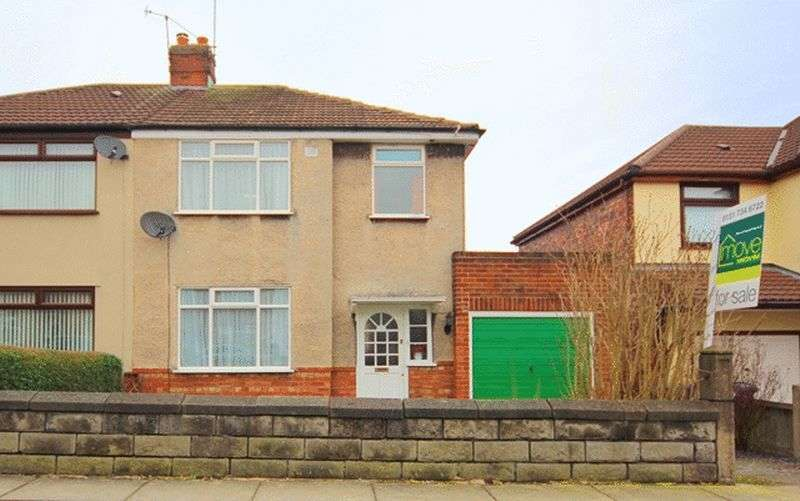 3 Bedrooms Semi Detached House for sale in Linkside Road, Woolton, Liverpool, L25