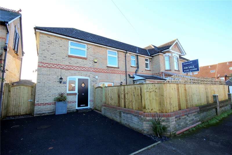 3 Bedrooms End Of Terrace House for sale in Worthington Crescent, Lower Parkstone, Poole, Dorset, BH14