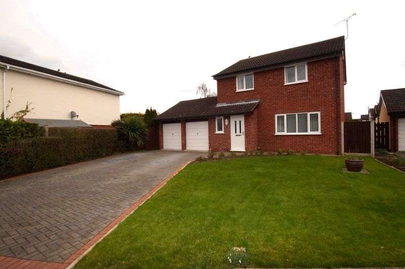 4 Bedrooms Detached House for sale in Alyn Drive, Rossett, Wrexham