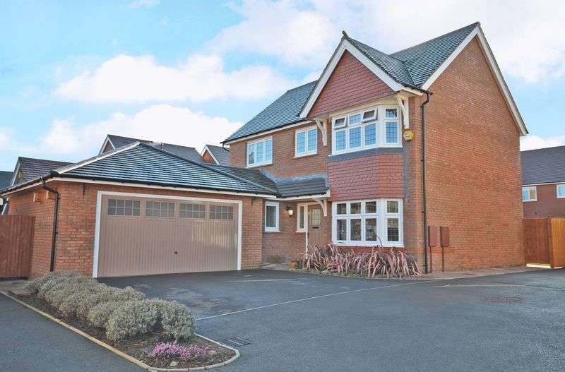 4 Bedrooms Detached House for sale in Stunning Redrow New Build, Abberley Hall Road, Newport West