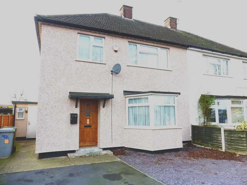 3 Bedrooms Semi Detached House for sale in Wolsey Road, Newark, NG24