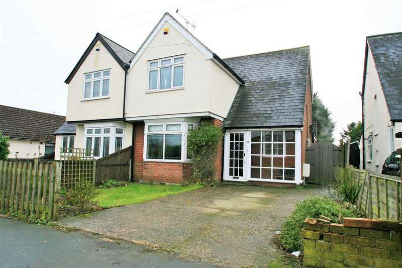3 Bedrooms Semi Detached House for sale in London Road, Marks Tey, Colchester