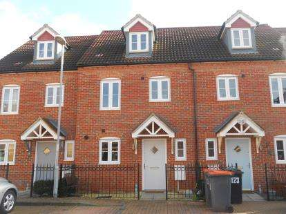 3 Bedrooms Terraced House for sale in Ashmead Road, Bedford, Bedfordshire