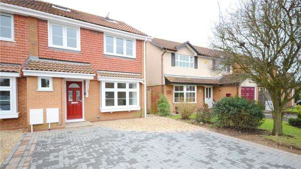 4 Bedrooms Semi Detached House for sale in Chatteris Way, Lower Earley, Reading