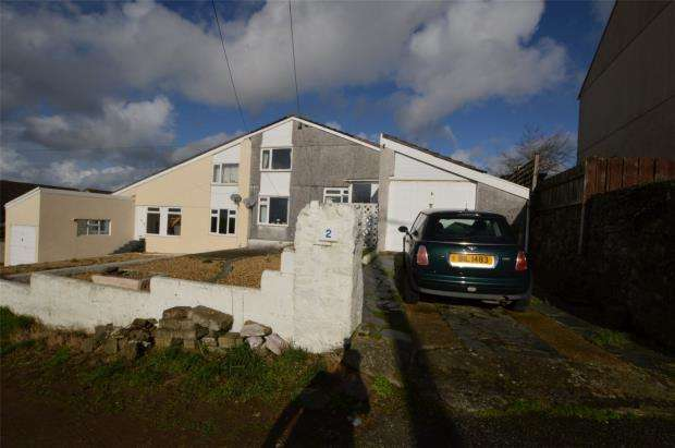 3 Bedrooms Semi Detached House for sale in St Stephens Hill, St Stephens, Saltash, Cornwall