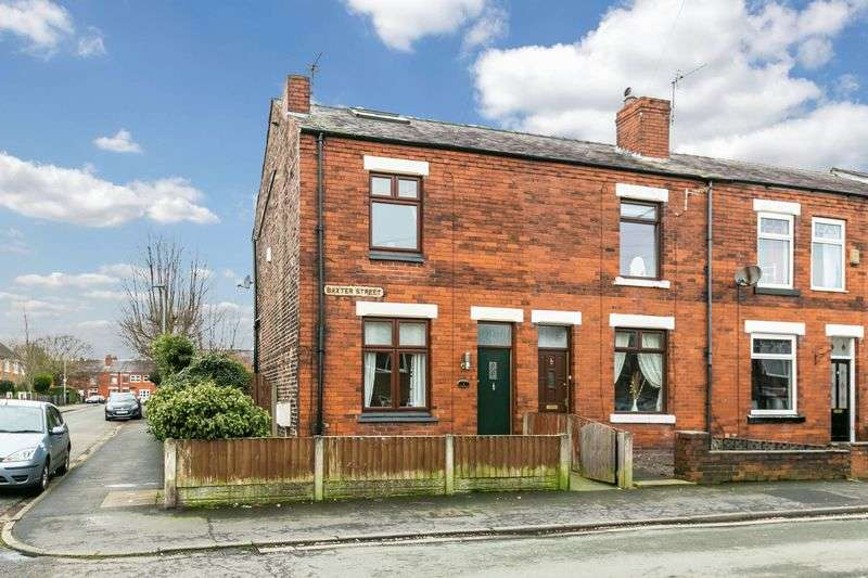 2 Bedrooms Terraced House for sale in Baxter Street, Standish, WN6 0DE