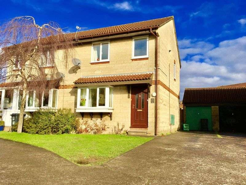 3 Bedrooms Semi Detached House for sale in Botham Close, Worle, Weston-super-Mare