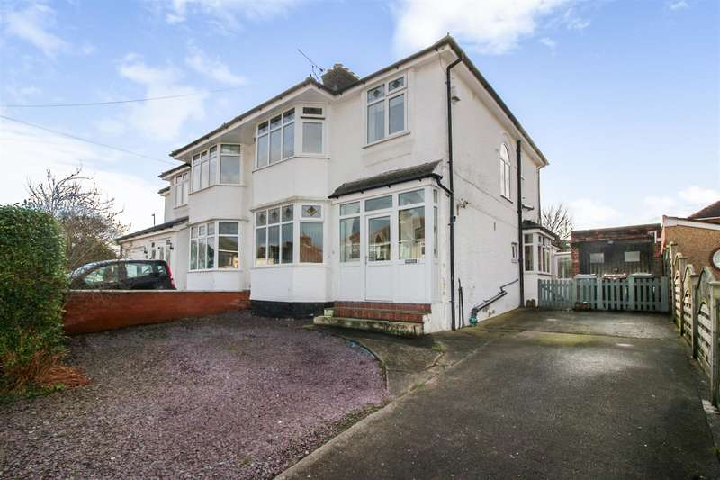 3 Bedrooms Semi Detached House for sale in Roslin Road, Irby, Wirral, CH61 3UH