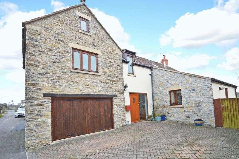 4 Bedrooms Detached House for sale in Back Lane, Chapel Allerton, (Between Axbridge and Wedmore), Somerset