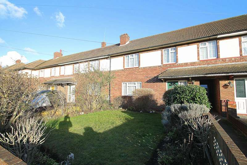 4 Bedrooms Terraced House for sale in Hensworth Road, Ashford, TW15