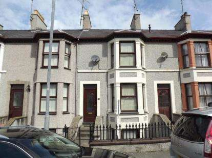 3 Bedrooms Terraced House for sale in Clarke Terrace, Caernarfon, Gwynedd, LL55