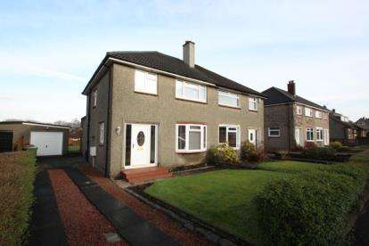 3 Bedrooms Semi Detached House for sale in Gleneagles Gardens, Bishopbriggs